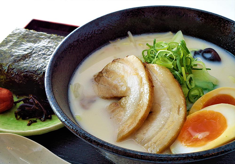 春野菜チャーシュー麺