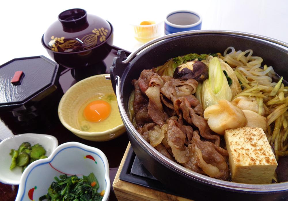 牛すき鍋膳~国産和牛~